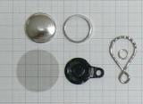 25mm LoopKeyRingSet / 50 Sets