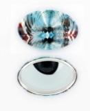 Oval-SpiegelButtons-100 Sets